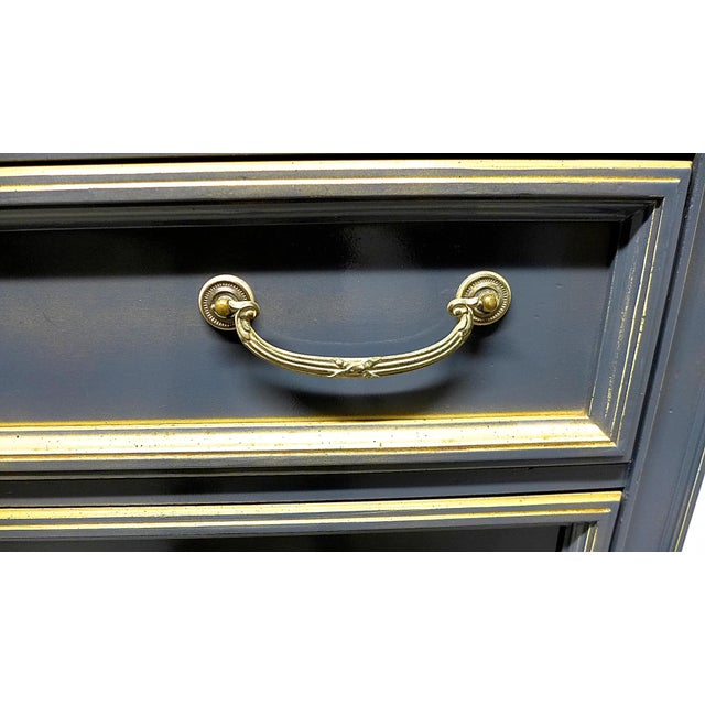 French Style Gray-Blue Painted Dresser - Image 7 of 11