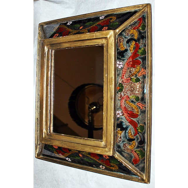 Reverse Painted Mirror - Image 2 of 5