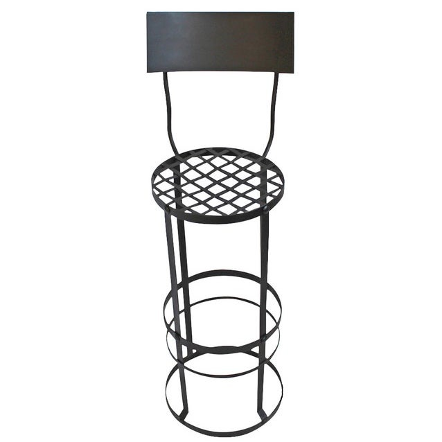 Industrial Woven Bar Stool - Image 1 of 3