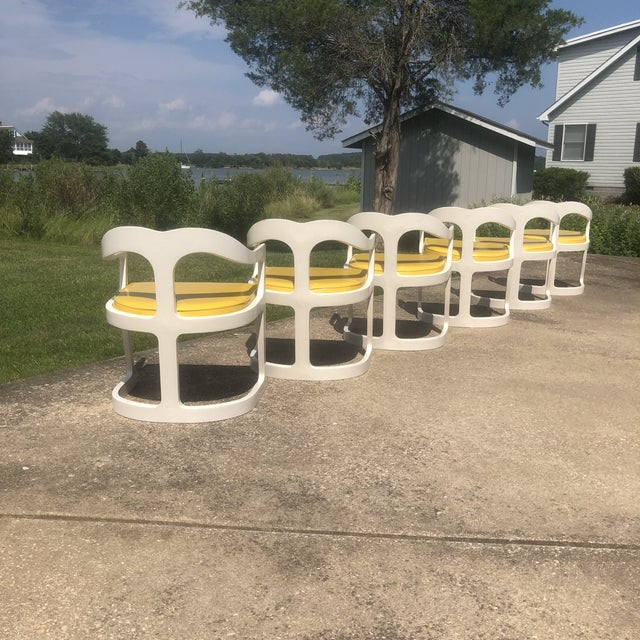 Broyhill 1970s Space Age Broyhill Chapter One Dining Set - 7 Pieces For Sale - Image 4 of 8