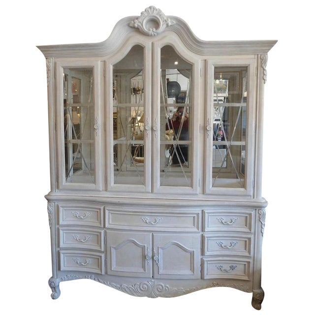 White China Hutch by Fairmont Designs - Image 1 of 10