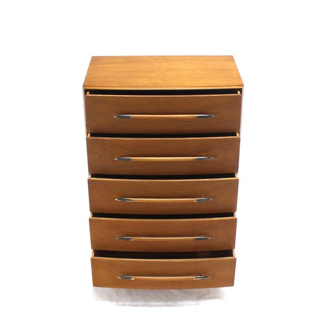 Early 20th Century Gibbings for Widdicomb High Chest of Drawers For Sale - Image 5 of 7
