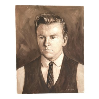 """""""Monotone"""" 1960s Ford Cooper Self Portrait"""
