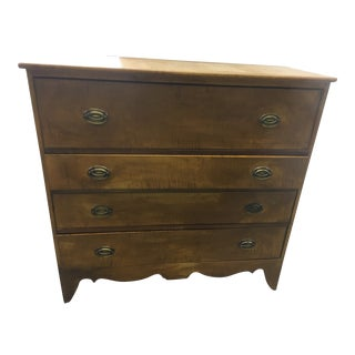 19th Century English Antique Chest of Drawers For Sale