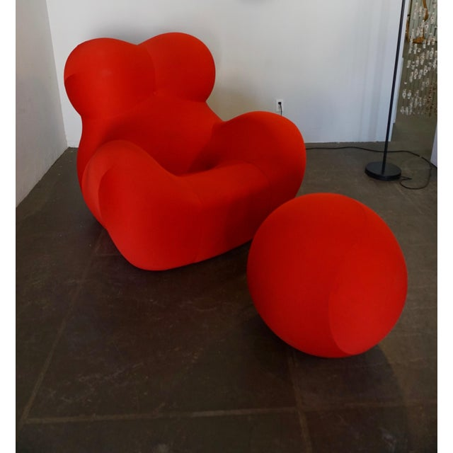 """""""Up5"""" and """"Up6"""",lounge chair + ottoman, also known as the """"Donna"""" Chair. Pesce designed this chair when he was 28-years-..."""