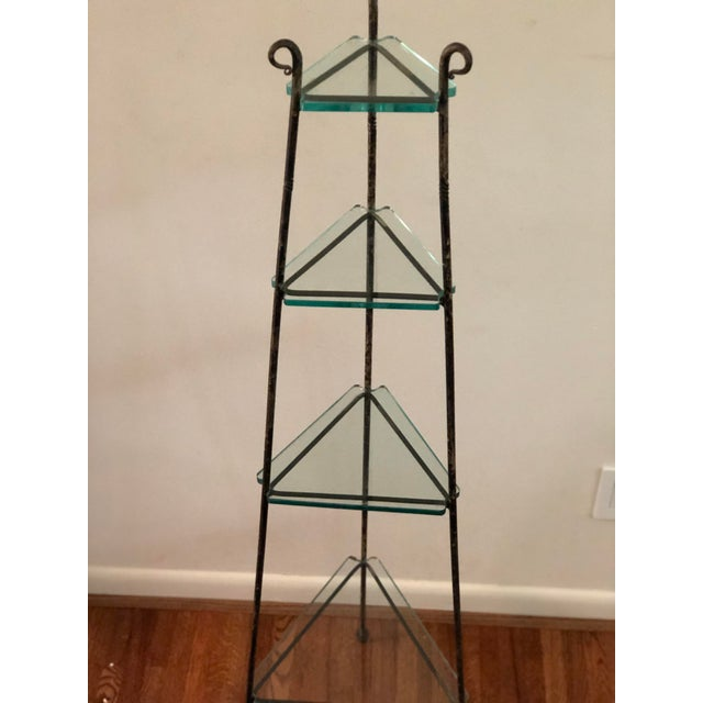 French Art Deco Forged Iron Cookware or Plant Stand For Sale In Atlanta - Image 6 of 12