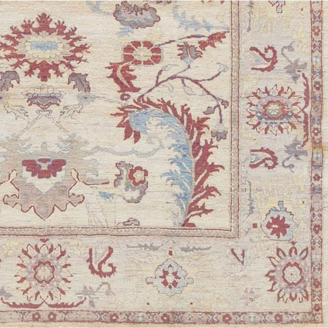 Persian Handwoven Persian Sultanabad Rug For Sale - Image 3 of 5