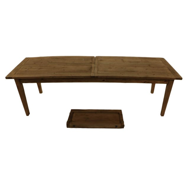 Parsons Rectangular Reclaimed Old Wood Dining Table - Image 5 of 10