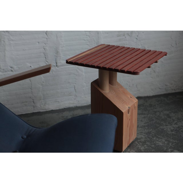 Contemporary Spencer Staley for the Good Mod Block Side Table For Sale - Image 3 of 7
