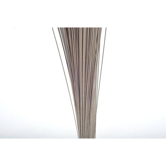 """Harry Bertoia Harry Bertoia Early Stainless Steel """"spray"""" Sculpture, Usa, 1960s For Sale - Image 4 of 6"""