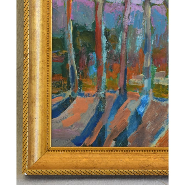Juan Pepe Guzman Santa Barbara Abstract Landscape Oil Painting For Sale In Los Angeles - Image 6 of 9