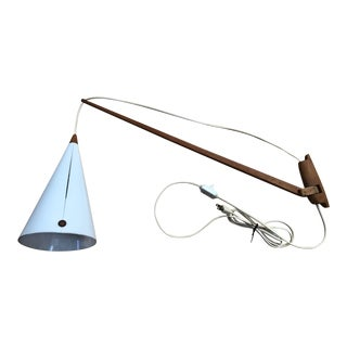 Luxus Vittsjo Swing Arm Lamp With Cone Lamp Shade For Sale