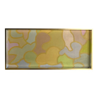 Pastel Geometric Abstract Patricia Sloane For Sale