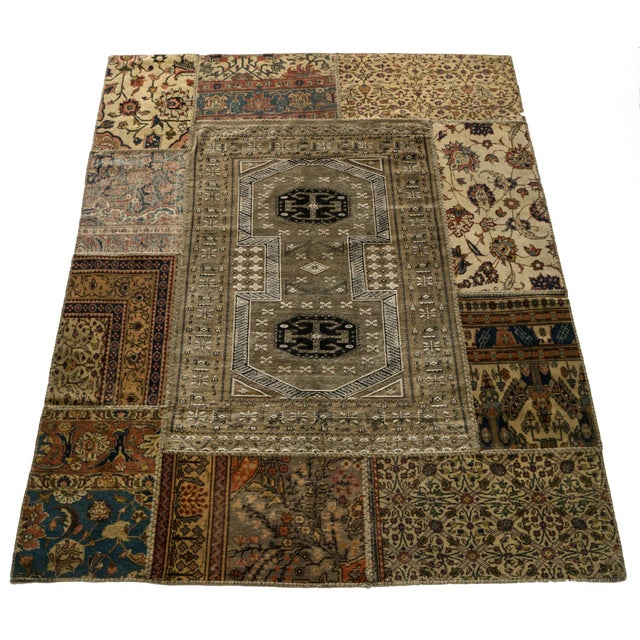 """Middle Eastern Royalty Rug - 5'10"""" × 7'3"""" - Image 2 of 2"""