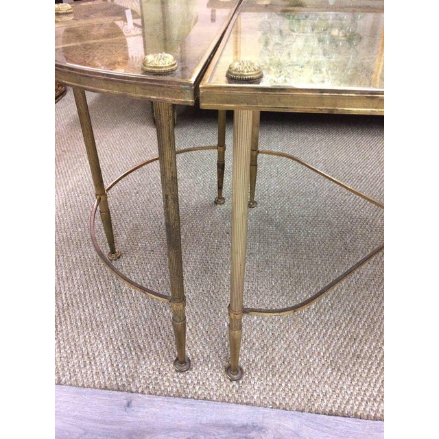 Vintage Oblong Gilded Coffee Table For Sale In Philadelphia - Image 6 of 9