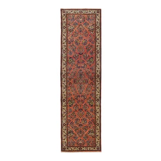 One-Of-A-Kind Persian Hand-Knotted Area Rug, Tuscan, 2' 9 X 10' 3 For Sale