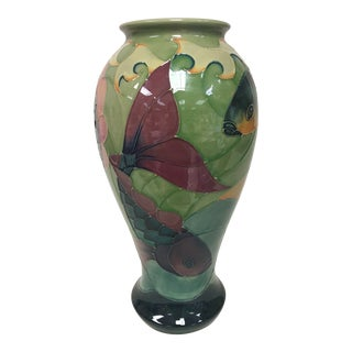 Moorcroft Sally Tuffin Coy Fish Vase For Sale