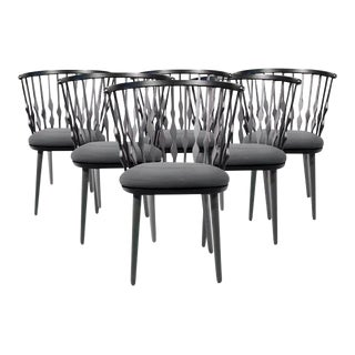 Patricia Urquiola Nub Armchairs - Set of 6 For Sale