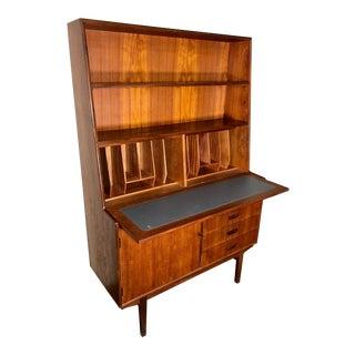 Mid Century Teak Secretary Desk by Turnidge of London For Sale