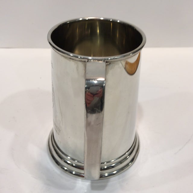 "Vintage Pewter ""53RD"" W.R.S. Hurricane Hunter Beer Stein - Image 3 of 11"