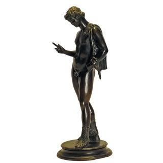1880s Grand Tour Bronze Statue of Bacchus For Sale
