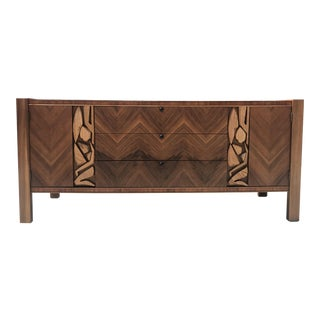 Brutalist Style Credenza by United Furniture