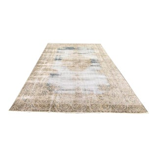 Natural Rug- 6'1'' X 9'7'' Turkish Rugs,Overdyed Rug,Turkish Carpet,Carpet,Rug,Anatolian Rug,Turkish Carpet Rug For Sale