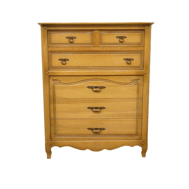 "Huntley Furniture Italian Provincial 38"" Chest of Drawers For Sale"
