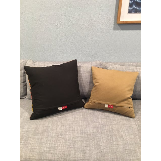 Turkish Kilim Pillow Covers - A Pair - Image 5 of 5