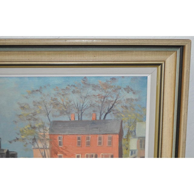 Rockport Massachusetts Oil Painting by Michael Stoffa For Sale - Image 5 of 9