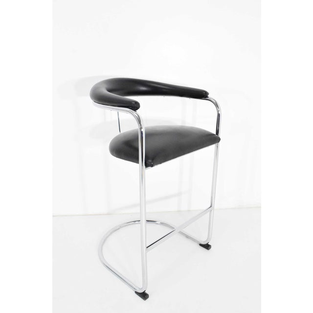 Anton Lorenz for Thonet Bar Stool For Sale - Image 11 of 11