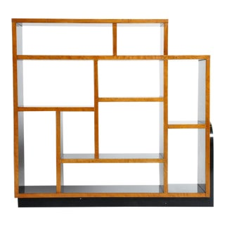 1940s Vintage Hungarian Art Deco Display Shelf For Sale