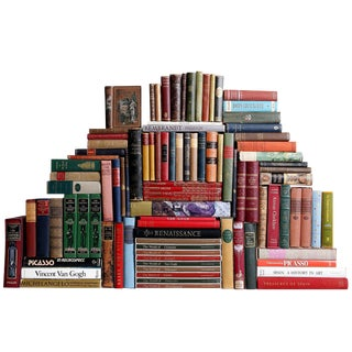 Curated Continental Library - Set of 100 Decorative Books