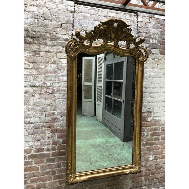 Baroque Special 19th Century Mirror From the South of France For Sale - Image 3 of 12