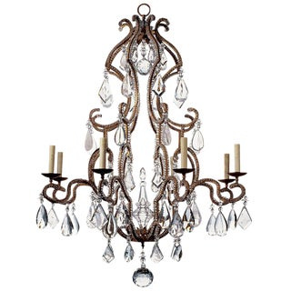 Dennis & Leen Metal Chantilly Chandelier