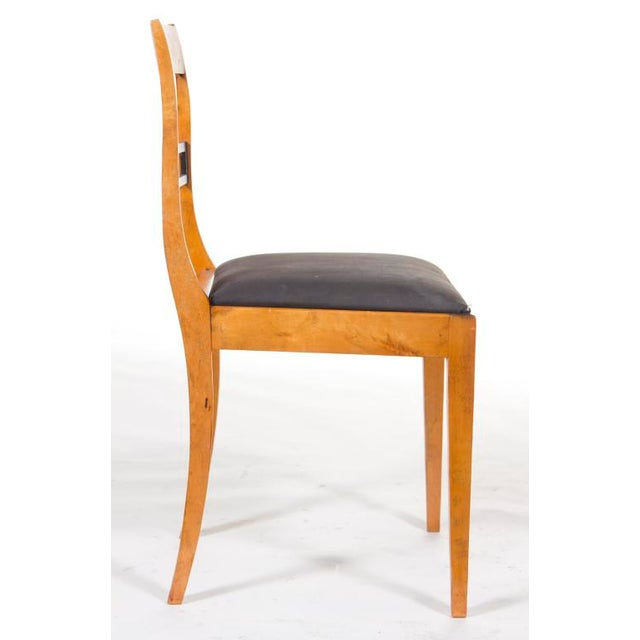 Early 20th Century Swedish Biederemeier Side Chair For Sale - Image 4 of 4