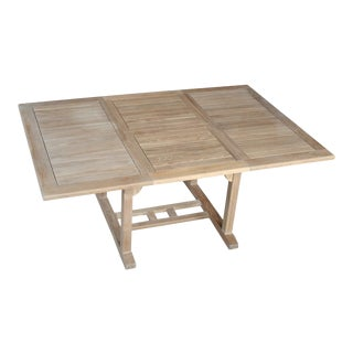 Niagara Teak Dining Table 48″- 70″ For Sale