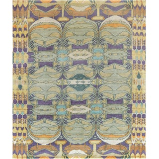 Mansour Modern Handmade Tibetan Rug