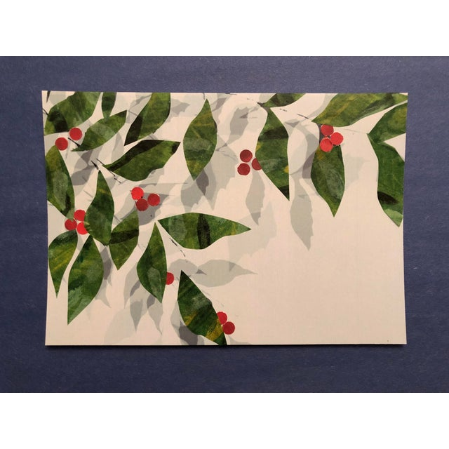 2010s Leaves and Berries Original Mixed Media Art by Nancy Smith For Sale - Image 5 of 5