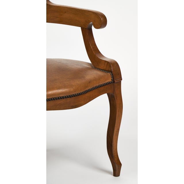 Antique French Restoration Style Arm Chair - Image 7 of 10