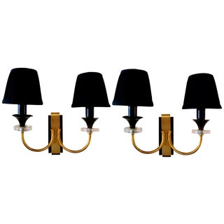 Vintage Maison Jansen Sconces - A pair For Sale