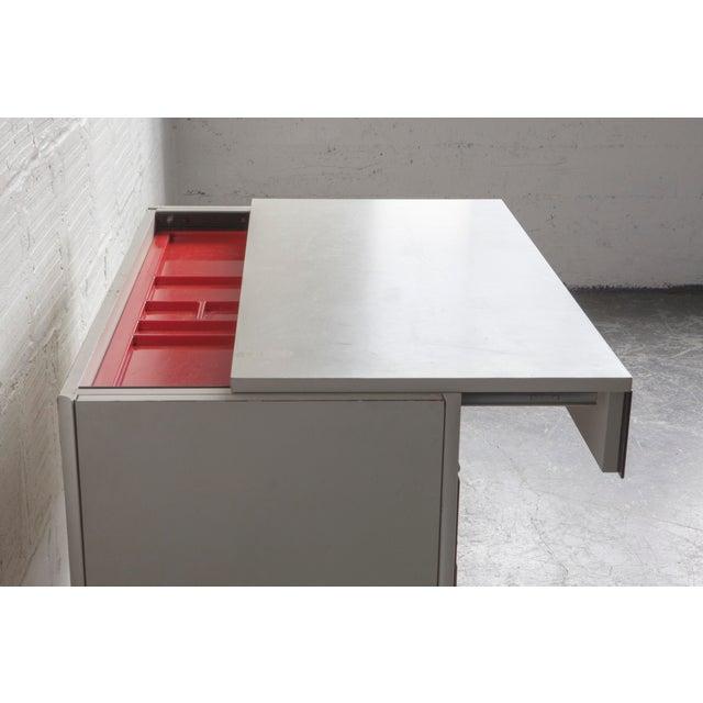 Raymond Loewy Slide Top Desk - Image 7 of 8