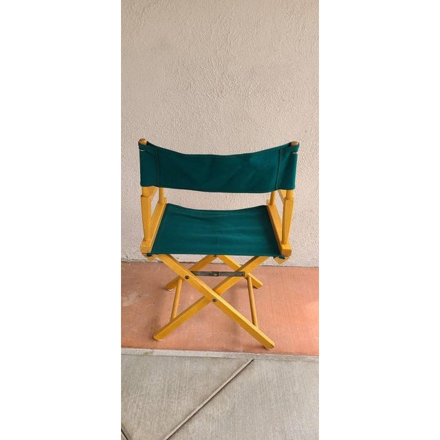 Late 20th Century Director's Chair For Sale - Image 4 of 11