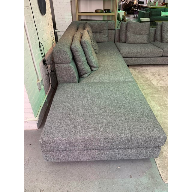 Contemporary Sectional Sofa For Sale - Image 4 of 8