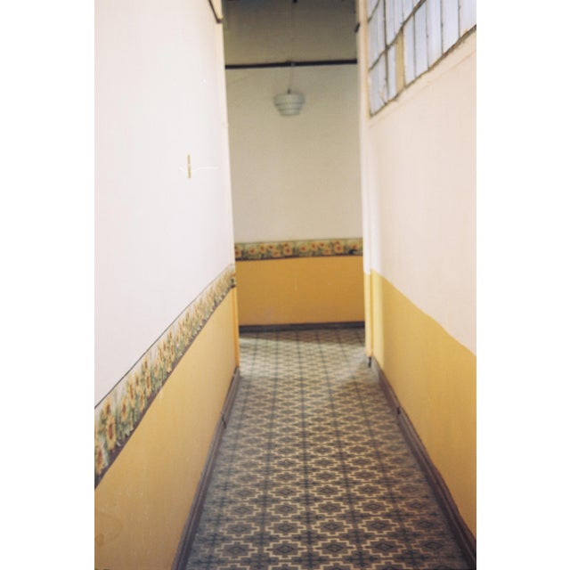 Hall of Sunflowers is a photo of my studio's hallway in one of Mexico City's oldest buildings. I took the picture with my...
