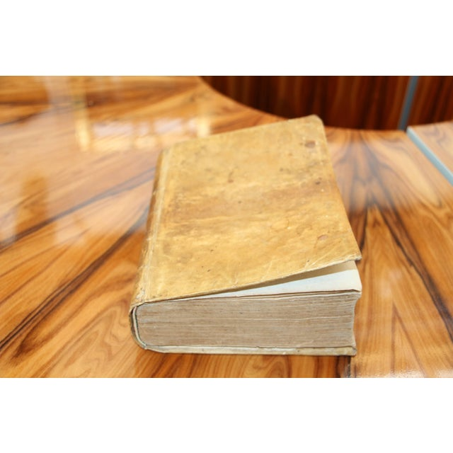 Traditional 1668 Vellum Covered Text Published in Rome For Sale - Image 3 of 10