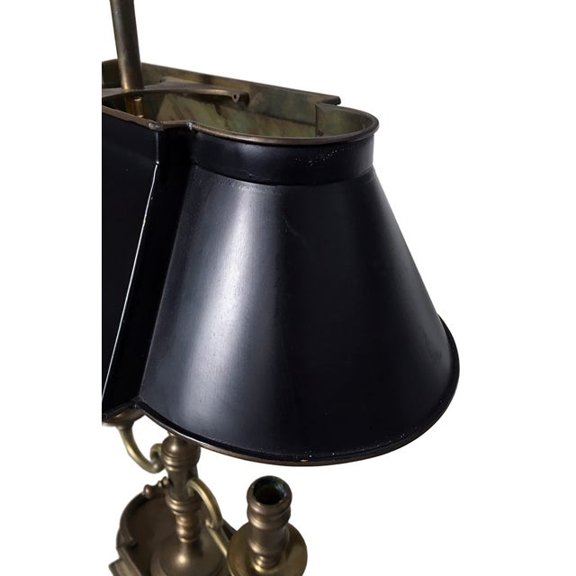Gold Antique French Bouillotte Lamp For Sale - Image 8 of 8