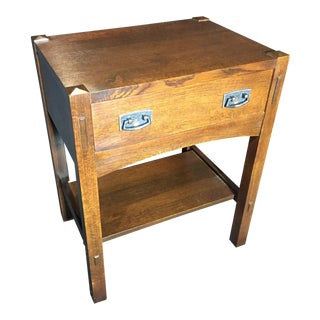 Stickley Mission Collection 89/91-611 One-Drawer Nightstand