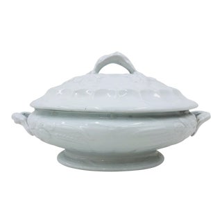 Antique English Ironstone Tureen