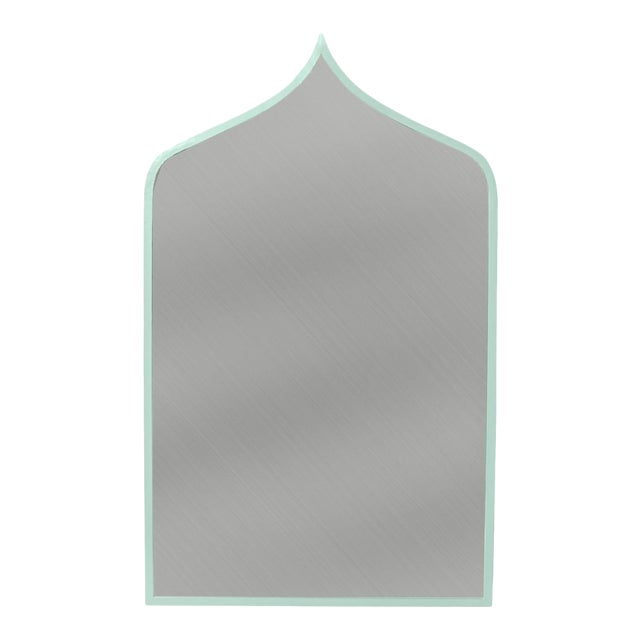 Stray Dog Designs for Chairish Marrakesh Mirror, Light Blue For Sale